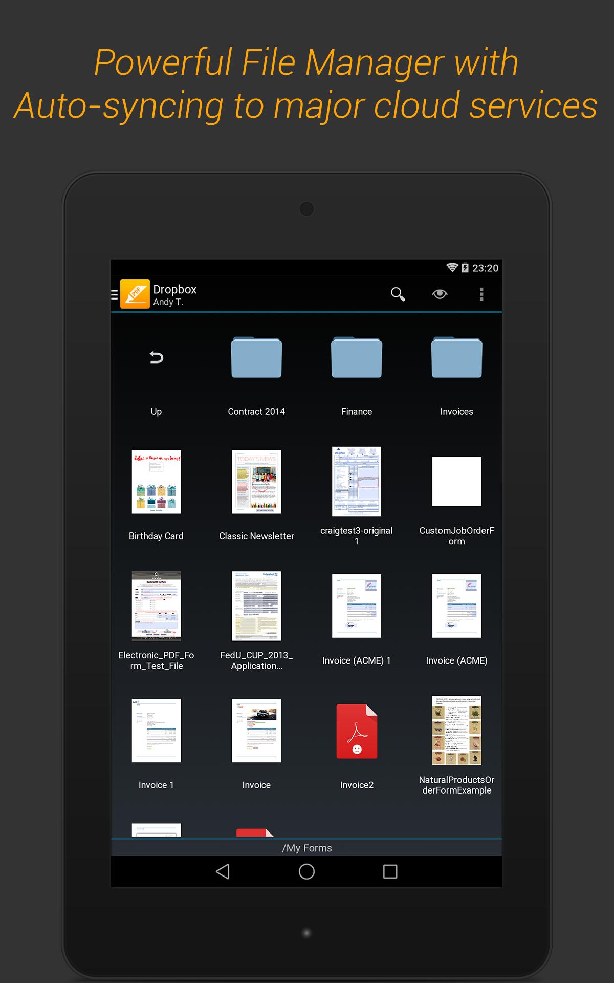 amazon kindle app android pdf