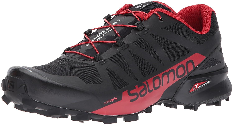 Salomon Speedcross Pro 2, Zapatillas de Senderismo para Hombre 47 1/3 EU|Negro (Black/Barbados Cherry/Black 000)