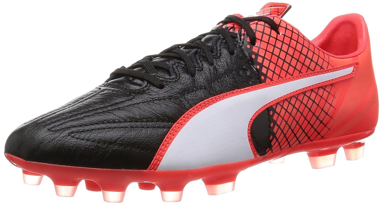 Puma Evospeed 3.5 LTH AG, Botas de Fútbol para Hombre 40 EU|Negro - Schwarz (Black-puma White-red Blast 01)