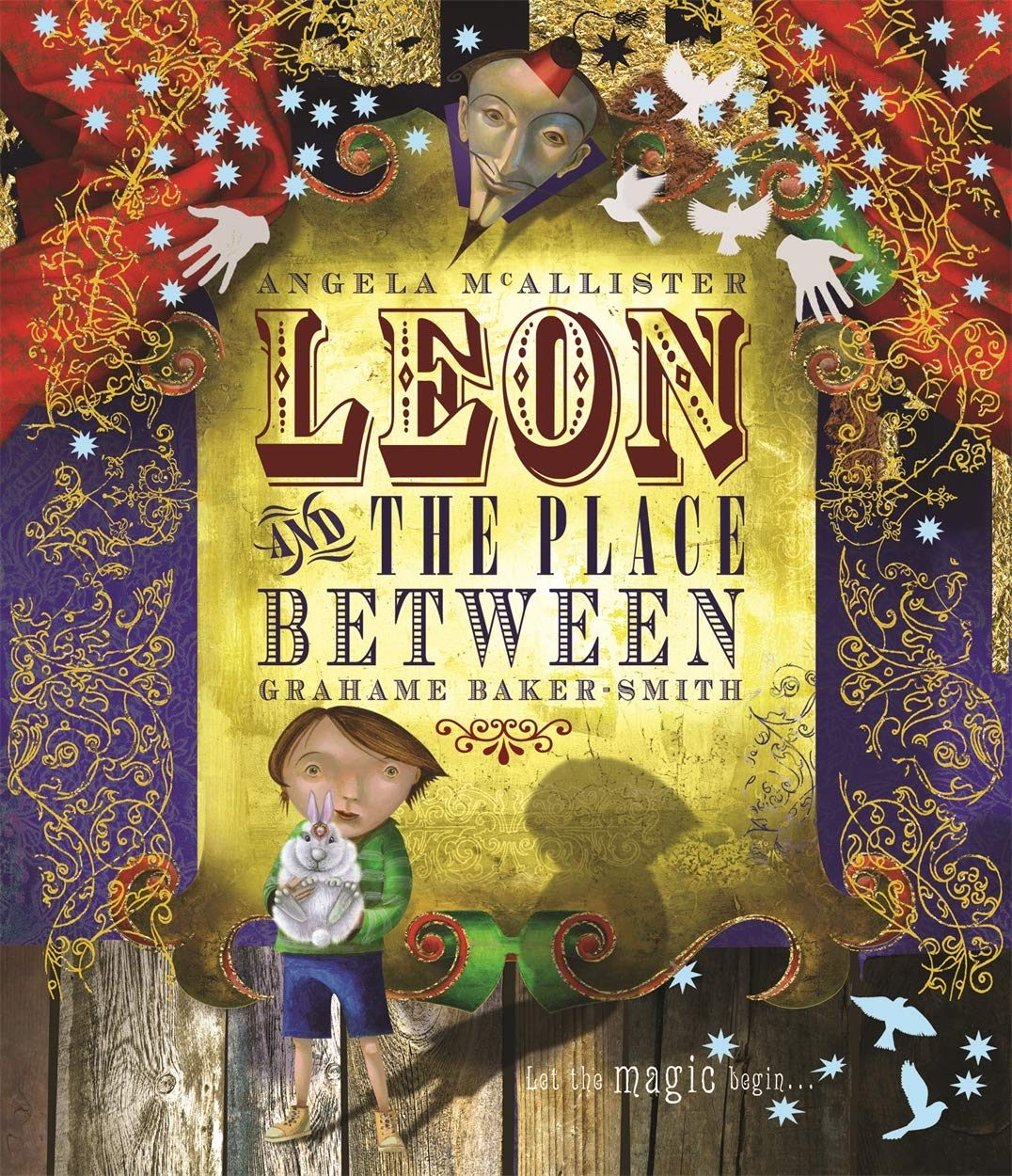 Leon and the Place Between: Amazon.co.uk: Graham Baker-Smith ...