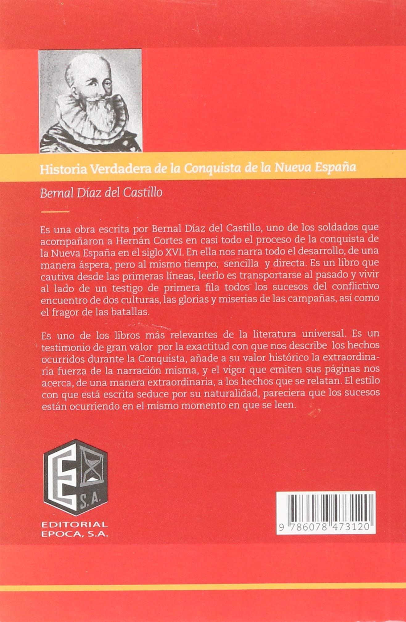 SPA-HISTORIA VERDAERA DE LA CO: Amazon.es: Del Castillo, Bernal Diaz: Libros