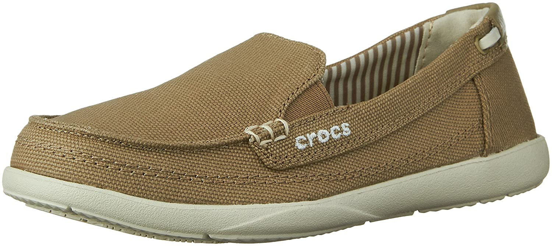 93ee4ce34ee Crocs Women s Walu Canvas Loafer  Crocs  Amazon.ca  Shoes   Handbags