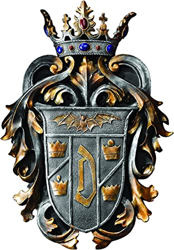 Design Toscano Count Dracula's Coat of Arms Wall Plaque Sculpture