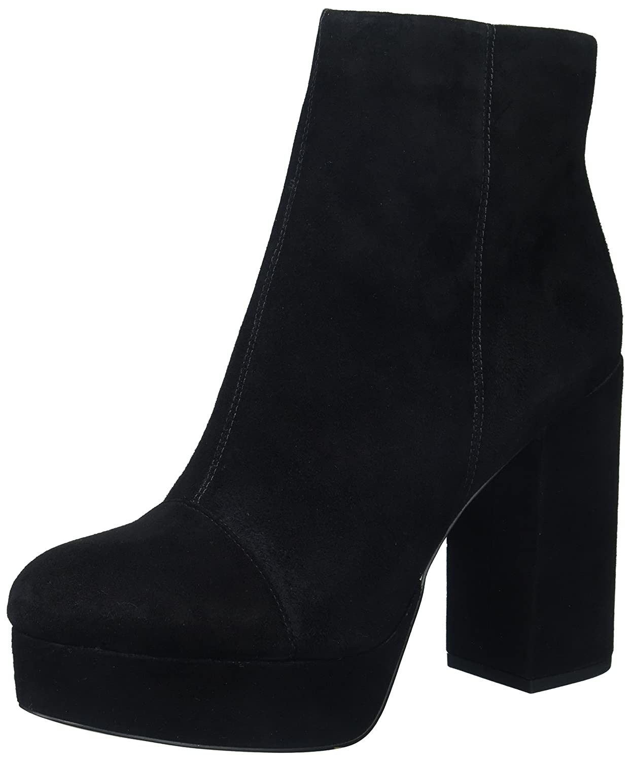 Sam Edelman Women's Azra Fashion Boot B071YFHWCN 9.5 B(M) US|Black Suede