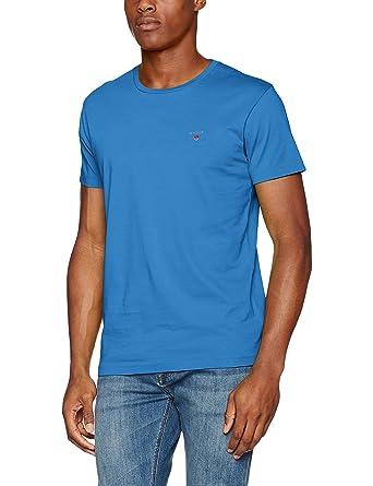 f4d8eef16440 Gant Men's's The The Original Ss T-Shirt: Amazon.co.uk: Clothing
