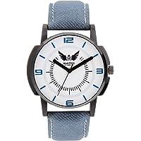 Martell Doran Series Round Dial Leather Strap Analog Sports/Stylish Watch