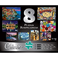 Buffalo Games, Rompecabezas 8 in 1 Collectors Edition, 2000 Piezas