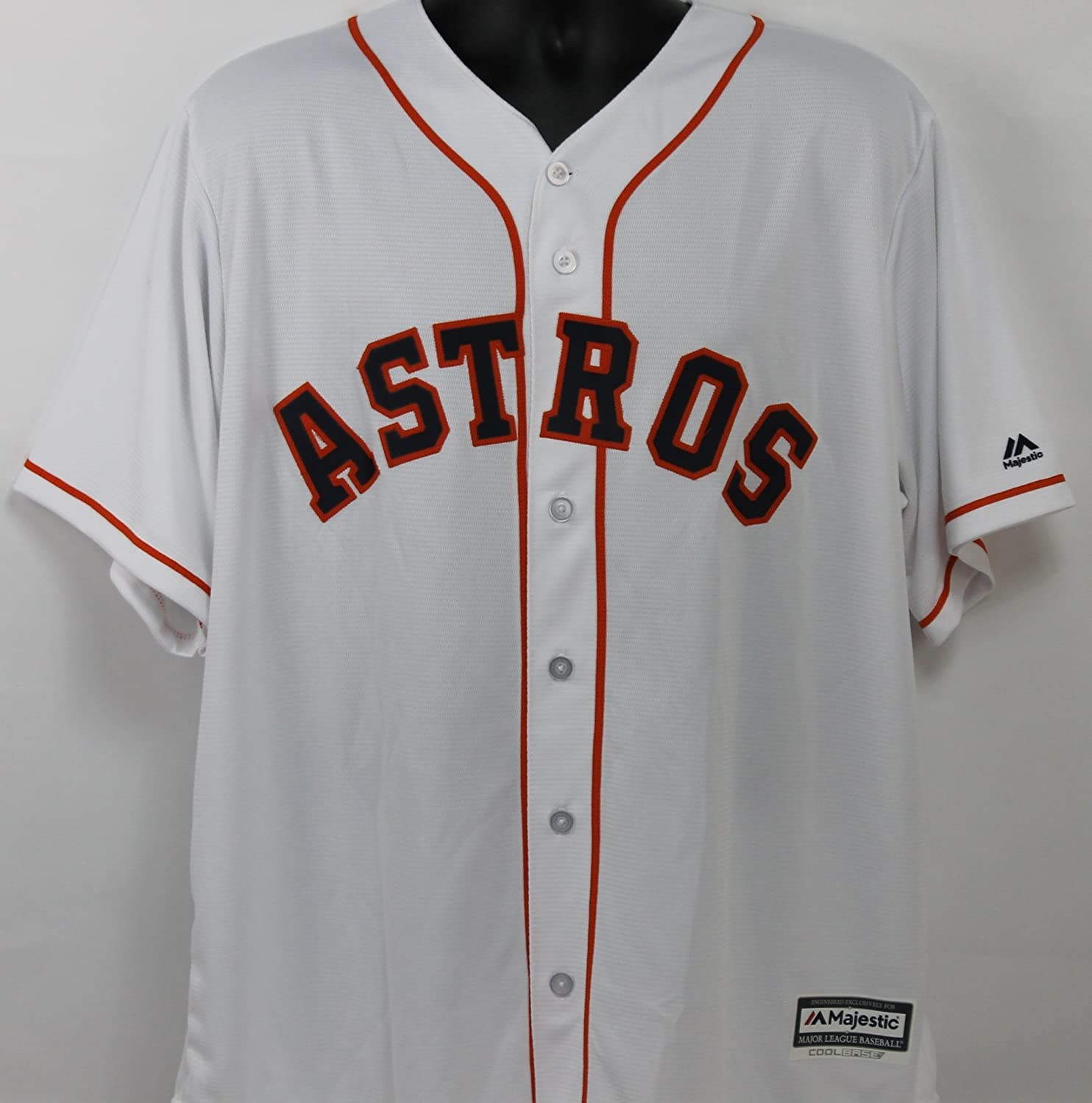 12f7d9b74d3 George Springer Autographed Houston Astros White Jersey w Beckett COA at  Amazon s Sports Collectibles Store