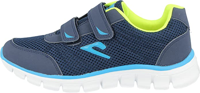 Kids 811201 Galop Mesh Touch Close Trainers Girls Boys Infant Casual Sports Shoes Size 10-2 UK 12.5 Kids, Navy//Blue//Green