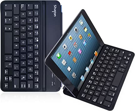LEICKE Sharon   Funda ultrafina con teclado español para iPad ...