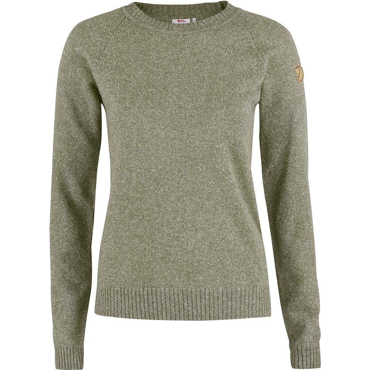 Fjällräven Övik Re-Wool Sweater Women - Damen Strickpullover  Amazon.de   Sport   Freizeit c29606f9f4