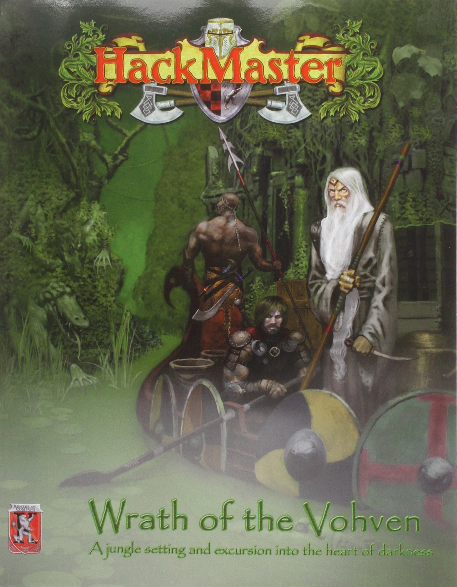 Read Online HackMaster Basic: Wrath of the Vohven ebook