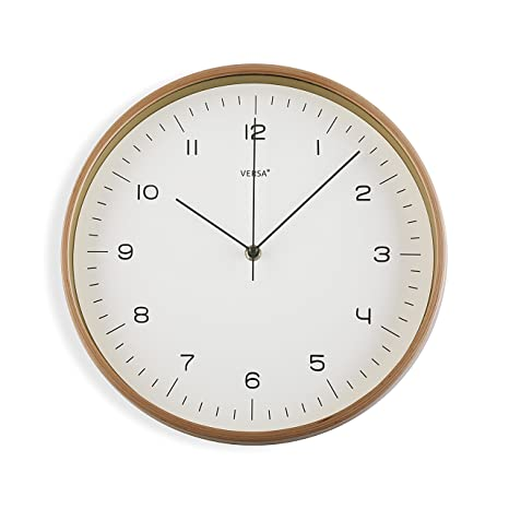 2f23d7bc2950 Versa 18560350 Reloj de pared Madera