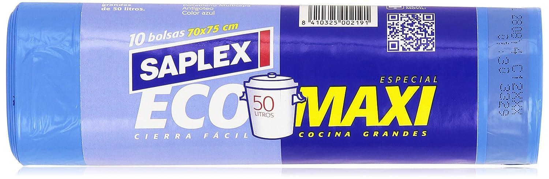 Saplex - EcoMaxi - 50 litros - 10 bolsas: Amazon.es ...