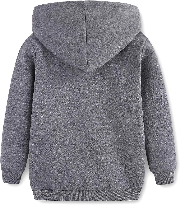 Sweatshirts for Girls Kids Hoodies Hooded Pullover Fuzzy Cute Owl