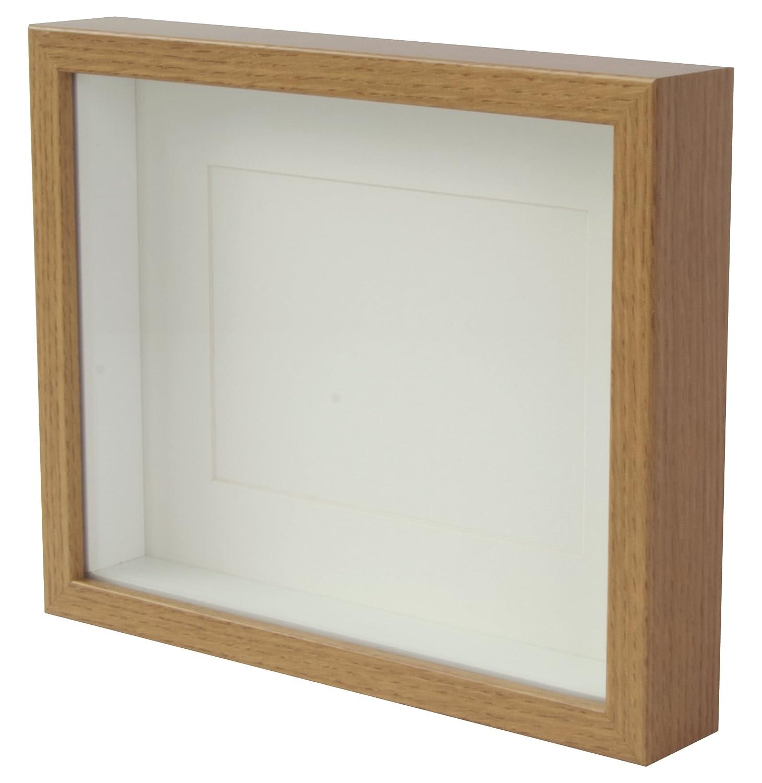 BD ART 20 x 25 cm Box 3D Bilderrahmen mit Passepartout 13 x 18 cm ...