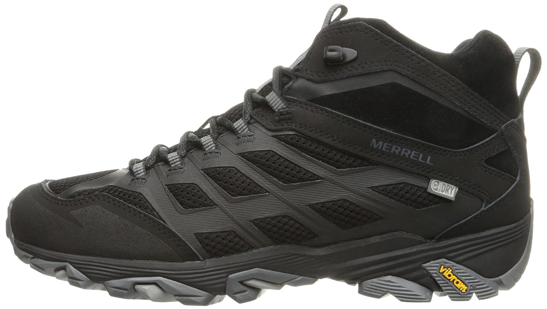 Merrell Mens Moab Fst Mid Waterproof Hiking Shoe