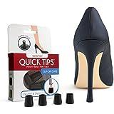 QUICK TIPS High Heel Protector & Heel Repair Caps (2 Pairs)