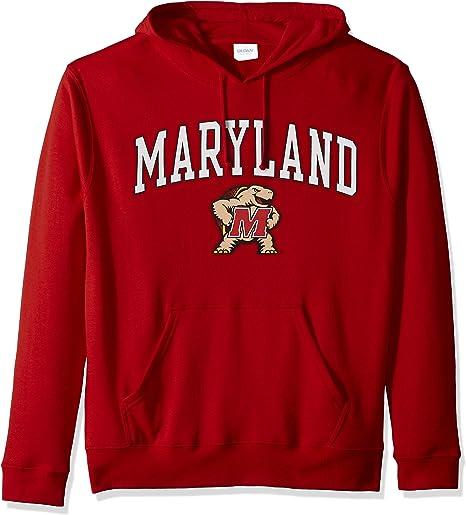 Elite Fan Shop NCAA Mens Hoodie Sweatshirt Dark Charcoal Arch