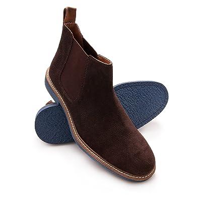 c964d6458373 Zerimar Chaussures en Cuir pour Homme
