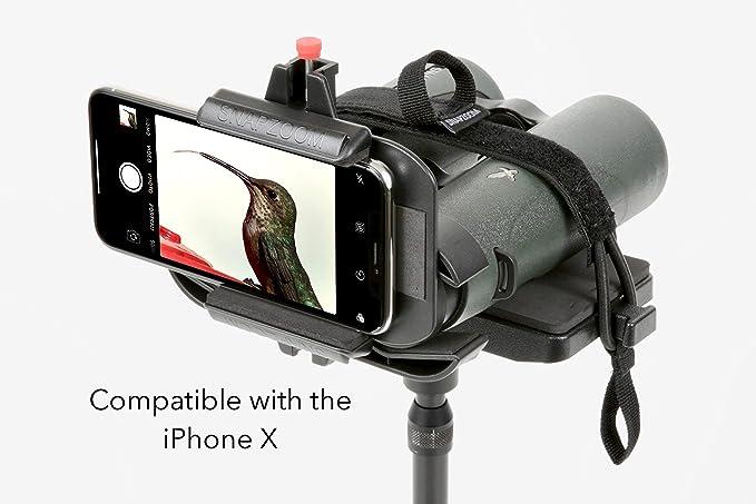 Snapzoom Universal Digiscoping Adaptador para iPhone y Android ...