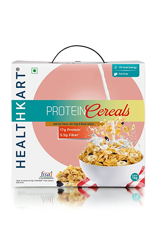 are cereals rich in protein