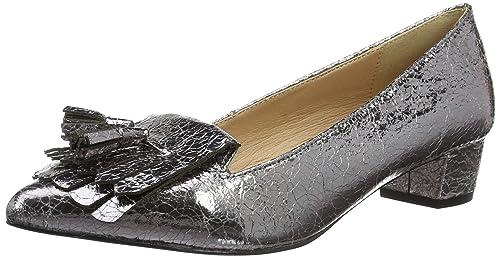 Miss KG - Zapatos de Tacón de Sintético Mujer, Color Gris, Talla 38