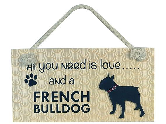 Instant Gifts Cartel de Madera para Mascotas, con Texto en ...