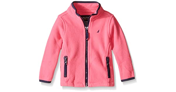 493a8ddfc9a Nautica Baby Fleece Jacket with Contrast Piping