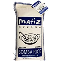 Matiz España Bomba Paella Rice from Spain (2.2 lbs.) Firm, Natural Spanish Grain | Round, Medium Short | Risotto and…