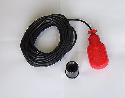 250 V - interruptor de flotador controlador Sensor de nivel de agua