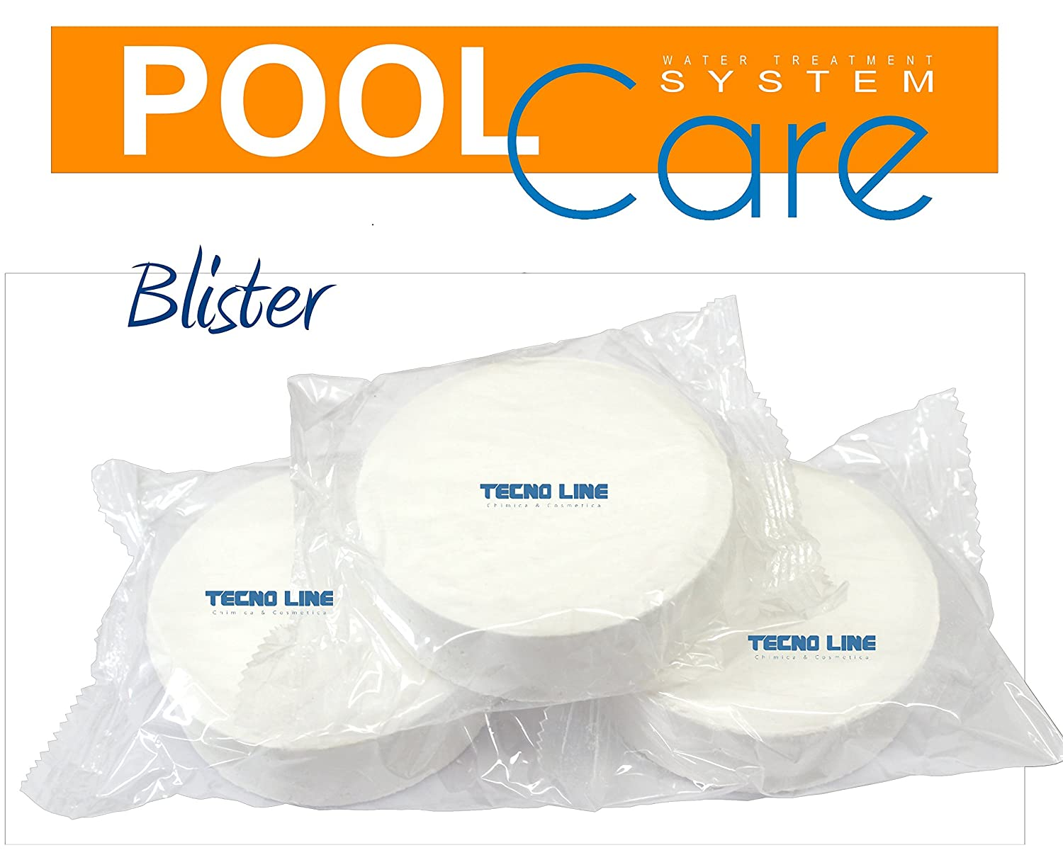 Cloro Pastillas Piscina Pool Care 250 1 kg. Oferta ...