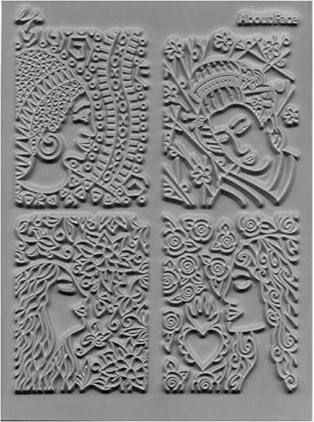 "Lisa Pavelka Individual Texture Stamp 4.25/""X5.5/""-Bloomin/'"