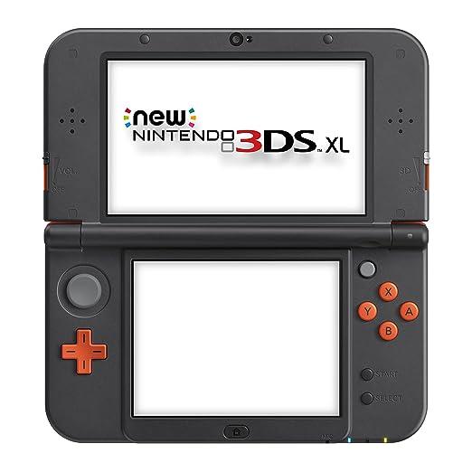 New Nintendo 3DS XL Orange Black [Importación Alemana ...