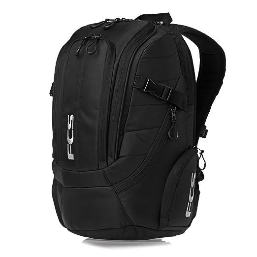 29f4fe7bc0b16 Amazon.com  FCS Stash Premium Laptop Backpack One Size Black  Sports ...