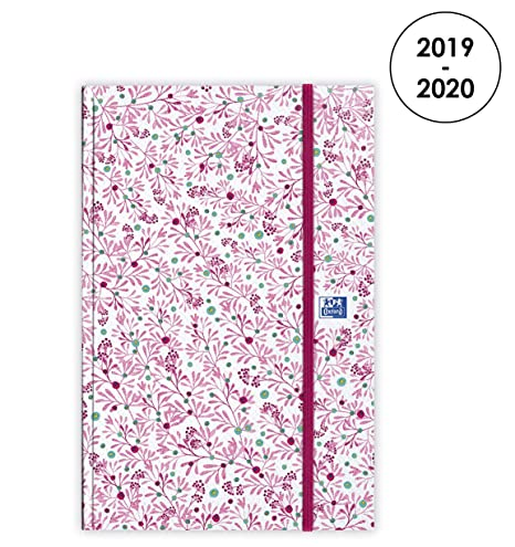 Amazon.com : Oxford Flowers 2019-2020 August to August Diary ...