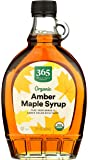 365 by Whole Foods Market, Organic Pure 100% Grade A Maple Syrup, Amber Color Rich Taste, 12 Fl Oz