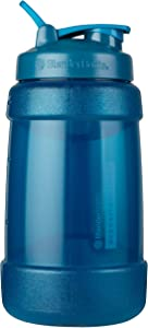 BlenderBottle Hydration Extra Large Koda Water Jug, 2.2-Liter, Blue
