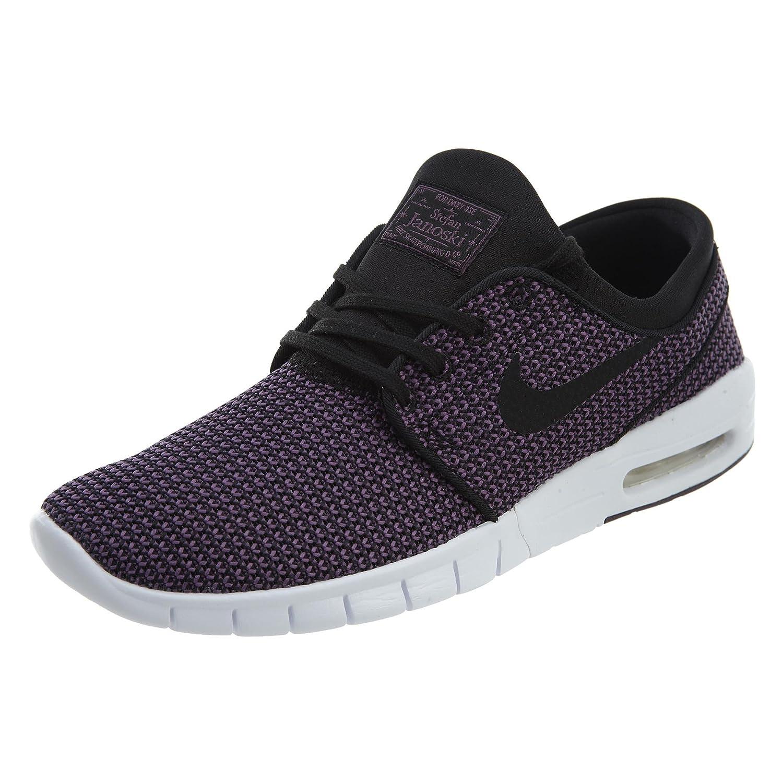 Nike SB Stefan Janoski Max Men's Shoes B07BT3KK84 10 D(M) US Black/Black Pro Purple/White