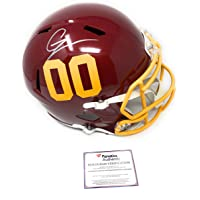$299 » Chase Young Washington Football Team Signed Autograph Full Size Speed Helmet 00 Fanatics Authentic Certified