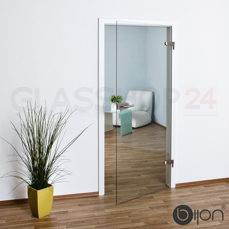 584x1952 mm klar bijon/® Glast/ür T4 Sonderma/ß: 2 cm gek/ürzt ohne Dekor Studio//Studio