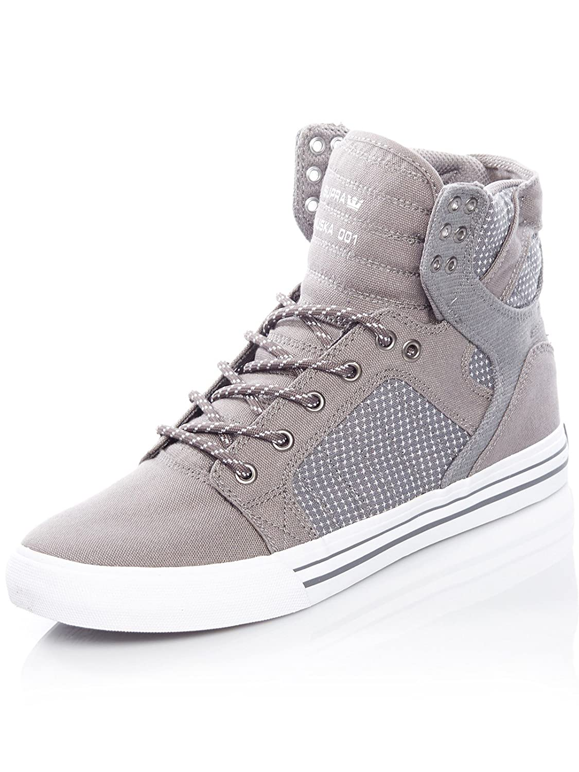 Supra Men's Skytop B074KK5WW2 11.5 M US|Charcoal-white
