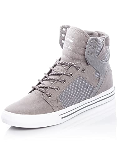 Supra Mens Skytop 18 ShoesSize 6CharcoalWhite