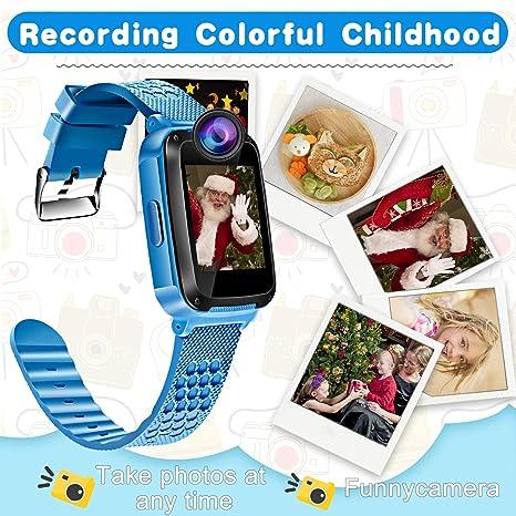 ... Kids Smartwatch for 3-12 Year Boys Girls Touch Screen Camera Game Alarm Clock Sport Outdoor Digital Wrist Cellphone Watch Bracelet for Birthday Gift: ...
