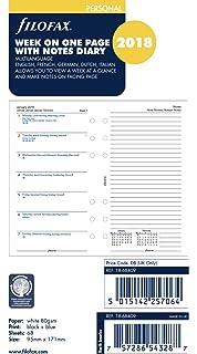 Filofax 19-68409 - Agenda personal (año 2019, con notas ...