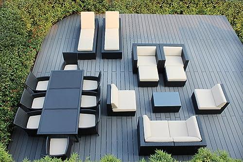 Ohana 20-Piece Outdoor Patio Furniture Sofa