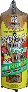 C & S Products Ready to Use Peanut Delight Log, 8-Piece