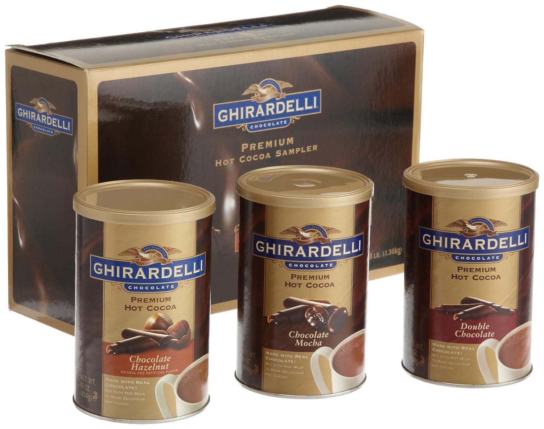 Amazon.com : Ghirardelli Chocolate Premium Hot Cocoa Sampler, 3 ...