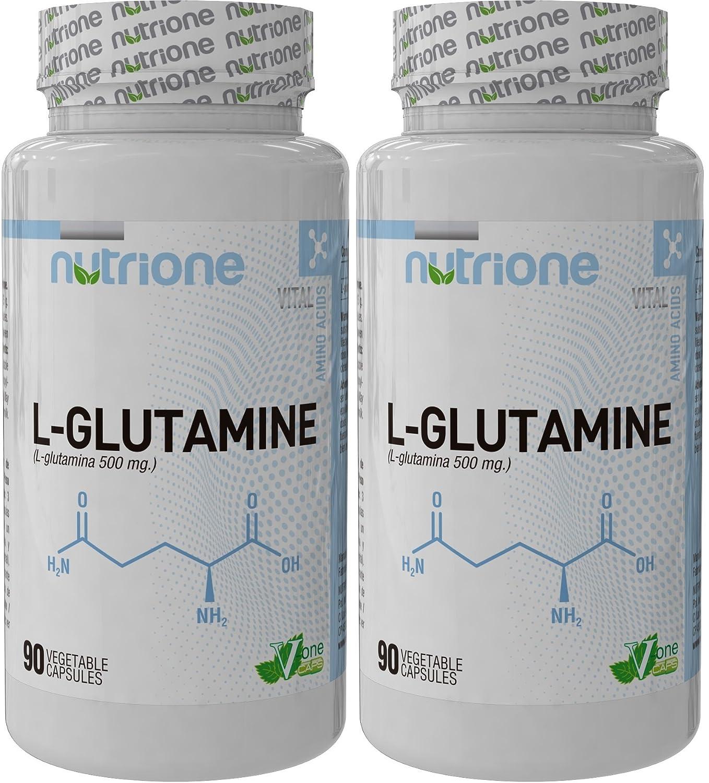 Glutamine 500mg NUTRIONE 90Capsules. L-Glutamine. Nutione