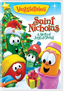 veggietales saint nicholas a story of joyful giving - The Toy That Saved Christmas